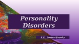 Personality Disorders: Presentation and Booklet