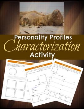 Characterization & Social Media: Literary Elements & Analysis {COMMON CORE}
