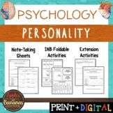 Personality - Psychology Interactive Note-taking Activities