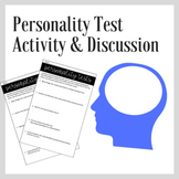 Personality Test Activity Personality Psychology