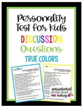 Personality Test For Kids Discussion Questions What Color Are You,Most Beautiful Places To Live In The Usa