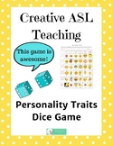Personality Traits Dice Game