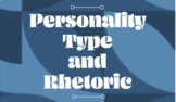 Personality Type and Rhetoric- Digital and Paper/Pencil