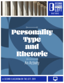 Personality Type and Rhetoric=- Digital only