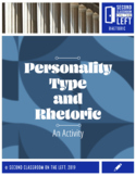 Personality Type and Rhetoric- Paper/Pencil ONLY