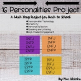 16 Personalities - Digital Personality Types Project