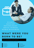 Personality and Career Posters based on Myers Briggs 16 Pe