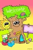 FREEBIE - Personalizable JUMBO Classroom Welcome Poster