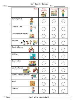 Personalized Behavior Chart