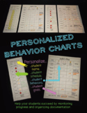 Personalized Behavior Charts