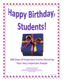 Personalized Birthday Greetings Historical Facts Editable