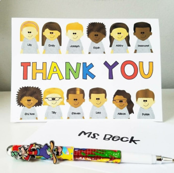Personalized Class Clipart