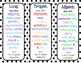 Personalized Editable Bookmarks Year End Keepsake, Bucket Filler, Student Gift