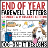 End of Year Letter from Teacher to Students and Parents