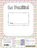 Personalized Family Book- La Famille