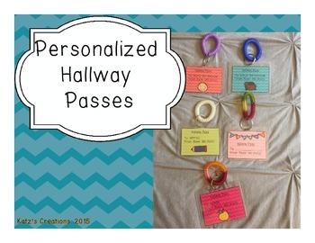 Personalized Hallway Passes