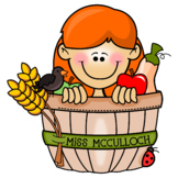 Personalized Happy Harvest Graphic