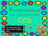 Personalized Learning Fourth Grade Lesson Plans CCSS