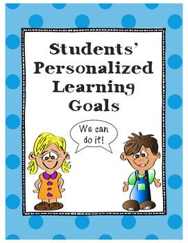 Personalized Learning Goals