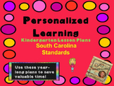 Personalized Learning Kindergarten Lesson Plans South Carolina Standards