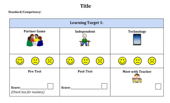 Personalized Learning (Learning Map - Playlist Templates)