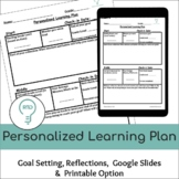 Personalized Learning Plan | Digital and Print Student Goa