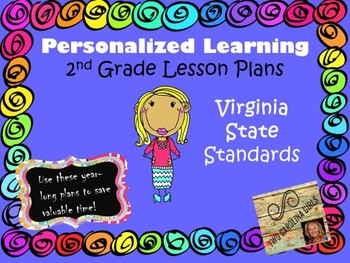 Personalized Learning Second Grade Lesson Plans Virginia State Standards