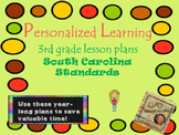 Personalized Learning Third Grade Lesson Plans South Carol