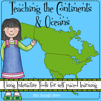 Personalized Learning Unit: Continents & Oceans {FL Standards Aligned}