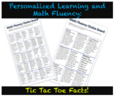 Personalized Learning and Math Fluency: Tic Tac Toe Facts