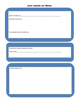 Personalized Learning and Rapport Building Activity