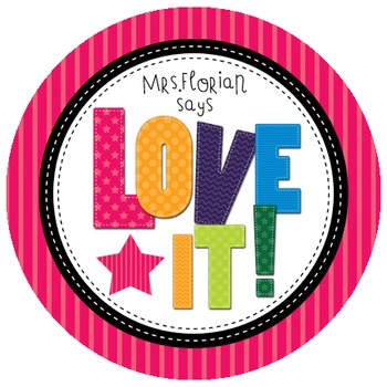 Personalized Merit Stickers - Alphabet Magnets