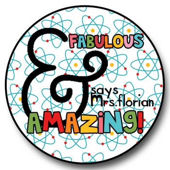 Personalized Merit Stickers - Ampersand