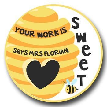 Personalized Merit Stickers - Beeautiful