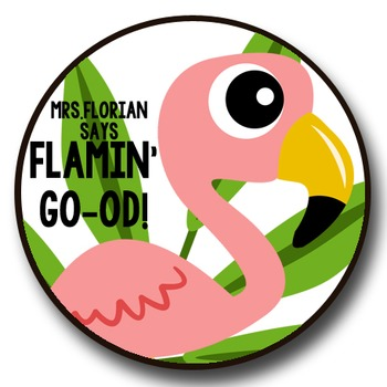 Personalized Merit Stickers - Bright Birdies