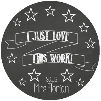 Personalized Merit Stickers - Chalkies