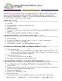 Personalized Mindfulness 101: Agenda / Professional Develo