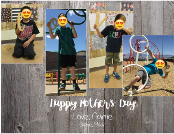 Personalized Mother's Day Craft with Photographs
