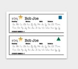 Personalized Name Tags For Intermediate Grades:  Cooperati