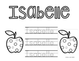 Personalized Name Tracing Pages for Entire Class