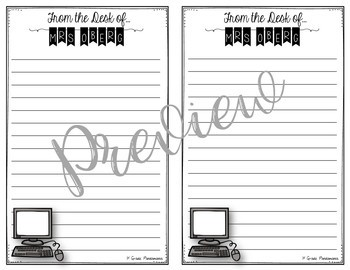Personalized Notepad Orders