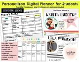 Editable Student Planner Template - Google Slides