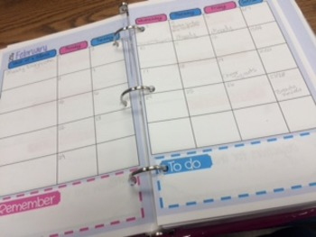 Personalized Planner for Mini Binder *EDITABLE*