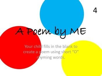 Personalized Poetry--O