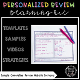 Personalized Learning {Planning Kit for Review}