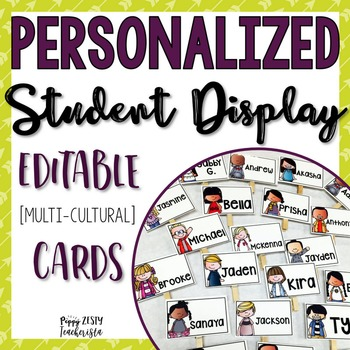 Personalized Student Display Tags