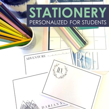 Personalized Student Stationery: End of Year Gift for Teens