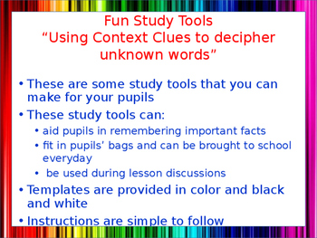 Personalized Study Tools
