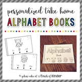 Personalized Take Home Alphabet Books