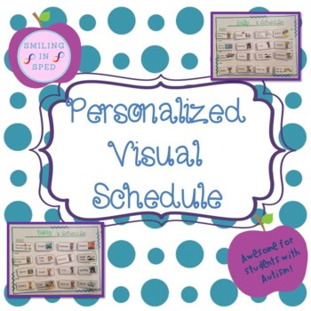 Personalized Visual Schedule